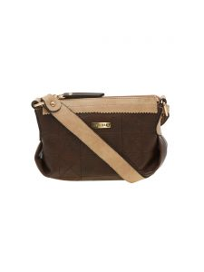 Esbeda Brown Solid Pu Synthetic Material Handbag For Women-1942 (code - 1942)