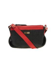 Esbeda Black Solid Pu Synthetic Material Handbag For Women-1945 (code - 1945)