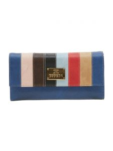 Esbeda Blue Solid Pu Synthetic Material Wallet For Women-1976 (code - 1976)