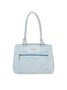 Esbeda Blue Solid Pu Synthetic Material Handbag For Women (code -2107)