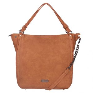 ESBEDA Brown Solid PU Synthetic Totebag For Womens (Code - 4221 Brown)   Brown