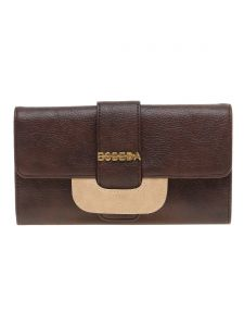 Esbeda Brown Solid Pu Synthetic Material Wallet For Women-( Code-2244)