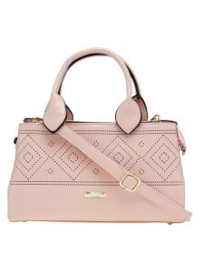 ESBEDA Pink Solid Pu Synthetic Material Arm Handbag For Women-( Code-2302)