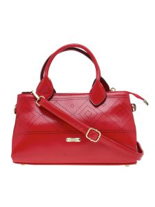 Esbeda Red Solid Pu Synthetic Material Arm Handbag For Women-( Code-2303)