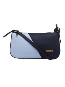 Esbeda L-blue-d-blue Color Solid Pu Synthetic Material Handbag For Womens(code-2383)
