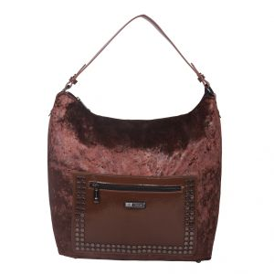 ESBEDA Brown Solid PU Synthetic Totebag For Womens (Code - 4225 Brown)   Brown