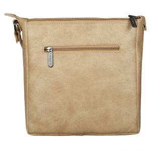 ESBEDA Drymilk Beige PU Synthetic Slingbag For Women's Beige