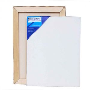 Roger & Moris Artist Stretched Canvas (12inch X 12inch) (pack Of 2)