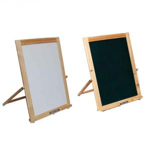 Roger & Moris Double Sided Natural Easel Board (19inch Height) Approx