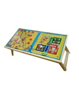Roger & Moris Ludo & Snakes And Ladders Fixed Multi-function/laptop Table