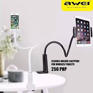 Cellphonez Awei X3 Flexible Lazypod Stand Mount For Mobile Phones And Tablets.