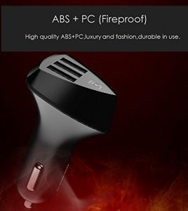 Alien Series Car Charger Adapter For Phones Tablets And Powerbanks