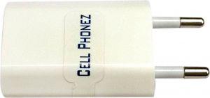 Cellphonez USB Wall Power Plug Adapter MP3 Player, Power Bank, Bluetooth Device WiFi Dongle