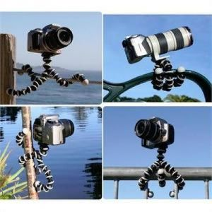 Cellphonez Gorillapod Flexible Mini Tripod (6 Inch Height) For Smartphones With Universal Mobile Attachment