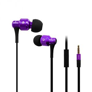 Awei Es-500i High Bass & Best Sound In-ear Earphone With Mic (purple)