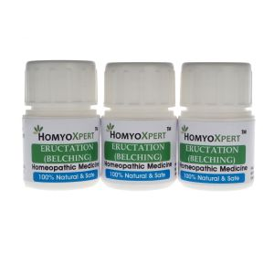 Homyoxpert Eructation (belching) Homeopathic Medicine For One Month
