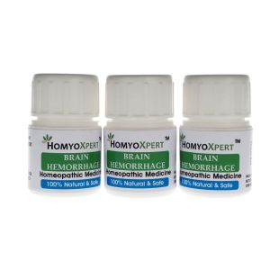 Homyoxpert Brain Hemorrhage Homeopathic Medicine For One Month