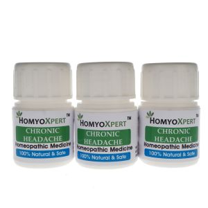 Homyoxpert Chronic Headache Homeopathic Medicine For One Month