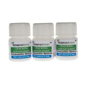 Homyoxpert Cracking Sound Joint Homeopathic Medicine For One Month