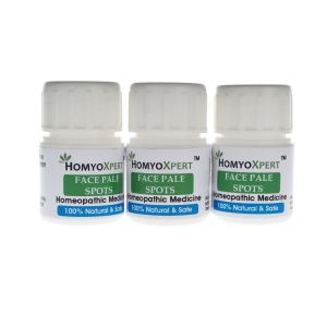 Homyoxpert Face Pale Spots Homeopathic Medicine For One Month