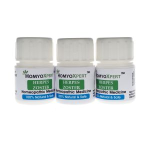 Cooking Ingredients ,Beverages ,Health Supplements  - Homyoxpert Herpes Zoster Homeopathic Medicine For One Month