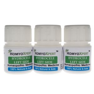 Health Supplements - Homyoxpert Hydrocele (Left Side) Homeopathic Medicine For One Month