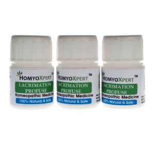 Homyoxpert Lachrymation Profuse Homeopathic Medicine For One Month