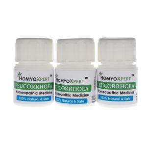 Homyoxpert Leucorrhoea White Discharge Homeopathic Medicine For One Month