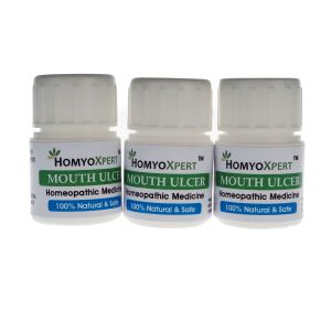 Homyoxpert Mouth Ulcer Homeopathic Medicine For One Month