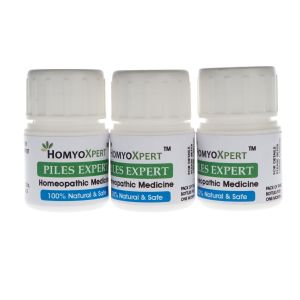 Homyoxpert Piles Expert Homeopathic Medicine For One Month