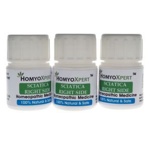 Homyoxpert Sciatica (right Side) Homeopathic Medicine For One Month