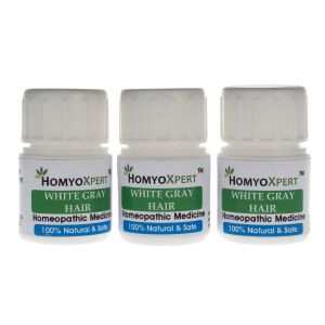 Homyoxpert White, Gray Hair Homeopathic Medicine For One Month