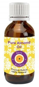 Pure Almond Oil 50ml (prunus Dulcis) 100% Natural Cold Pressed