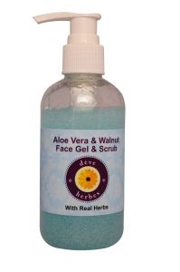 Aloe Vera & Walnut Face Gel