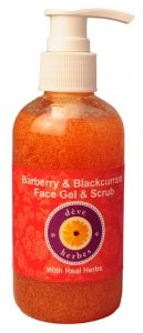 Barberry & Blackcurrant Face Gel & Scrub