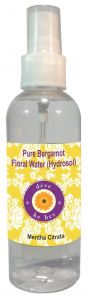 Natural Bergamot Floral Water (hydrosol) 100ml - Mentha Citrata