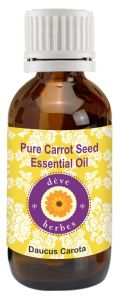 Pure Carrot Seed Essential Oil (10ml)- Daucus Carota