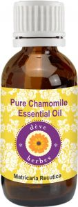 Pure Chamomile Essential Oil (5ml) - Matricaria Recutica