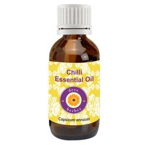 Pure Chilli Seed Essential Oil 50ml (capsicum Annum)
