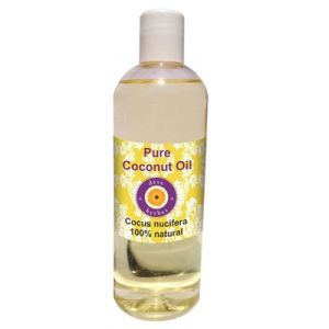 Pure Coconut Oil 200ml (cocus Nucifera) 100% Natural Cold Pressed