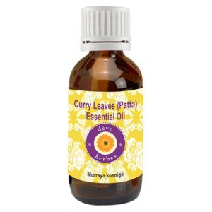 Pure Curry Leaves (patta) Essential Oil 10ml (murraya Koenigii)