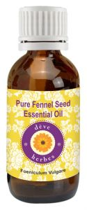 Pure Fennel Seed Essential Oil 15ml - Foeniculum Vulgare