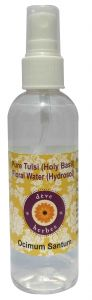 Natural Holy Basil Floral Water (hydrosol) 100ml - Ocimum Santum