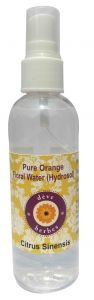 Natural Orange Floral Water (hydrosol) 100ml - Citrus Sinensis