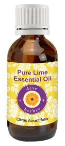 Pure Lime Essential Oil - Citrus Aurantifolia