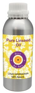 Pure Linseed Oil 630ml - Linum Usitatissimum 100% Natural Cold Pressed