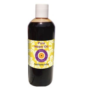 Pure Neem Oil 200ml (azadirachta Indica) 100% Natural Cold Pressed