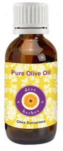 Pure Olive Oil 50ml (olea Europaea) 100 Percent Natural Cold Pressed