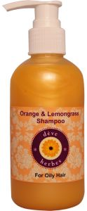 Orange & Lemongrass Shampoo - For Oily Hairs - 200ml