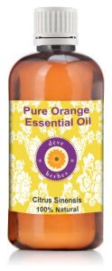 Pure Orange Oil - Citrus Sinensis 100ml